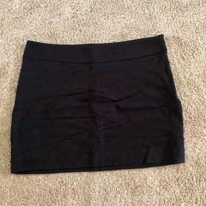 Express Crisscross Mini Skirt